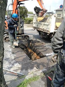 新名神高速道路現場事務所 給水装置新設工事
