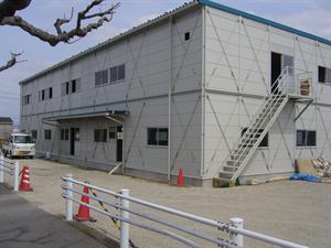 新名神高速道路現場事務所 ガス工事