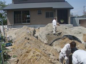 新築 屋外給排水設備工事