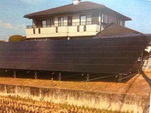 太陽電池パネル設置