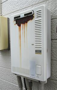 ガス給湯器の寿命