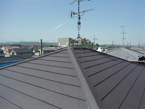 屋根工事完了_R