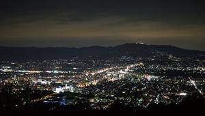 スタッフの休日 奈良の夜景