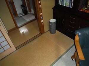 和室改修と床暖房敷設工事