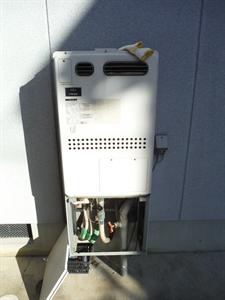 給湯器暖房熱源機取替工事