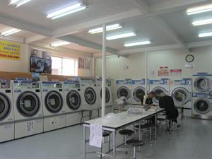 年末大洗濯