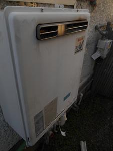 ガス給湯器とガスコンロ取替工事