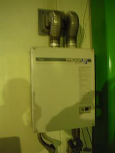 ガス給湯器新設・給水給湯管配管工事