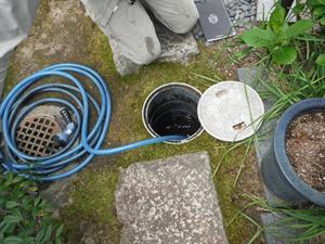 雨水排水管繋ぎ替え工事