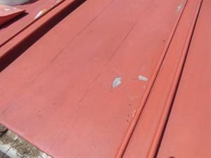 ビフォーアフター トタン屋根塗装工事