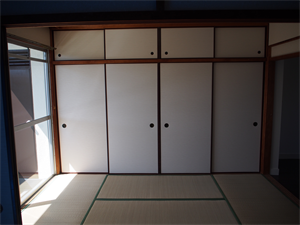 カーサ辻久 和室から洋室へリフォーム