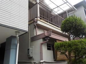 玄関屋根改修工事