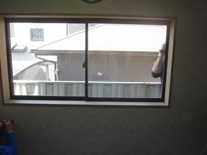 窓拡張工事