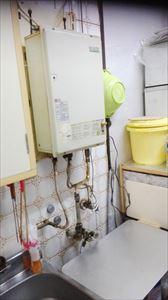 ガス給湯器取替工事