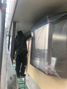 社屋外壁塗装工事