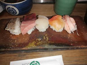 バースデイお寿司