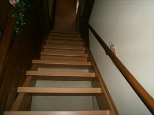 階段手すり取付工事