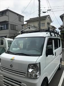 辻久リフォームプラザ営業車