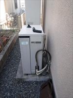 ガス給湯暖房熱源機取替工事