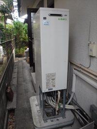ガス給湯暖房熱源機取付工事