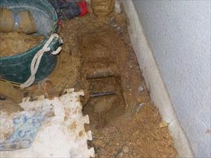 漏水修繕工事・水道メーターボックス取替工事
