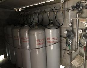 新規ガス供給 あられ工場