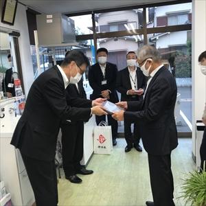 イタミジャンピングセール ゴールド賞受賞